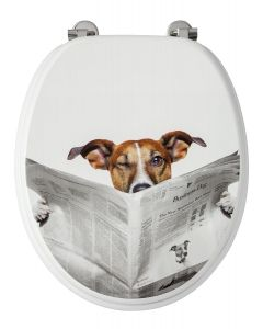 Business Dog WC-Bril - 37,3x5,6x44,8 cm